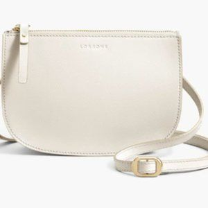 Lo & Sons Waverley 2 Large in Ivory/white leather